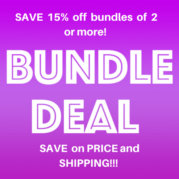 Other - Save on Price and Shipping When You Bundle